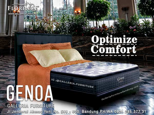 Spring Bed Florence Genoa Murah