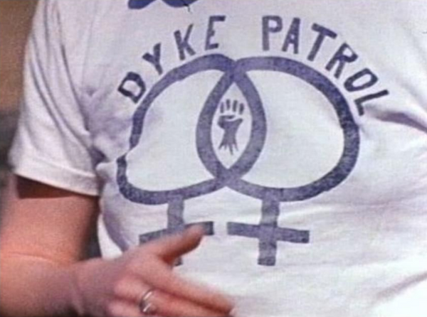 Paying homage to the legendary lesbian filmmaker, Barbara Hammer⁠ Still from the film Superdyke, 1975 LGBTQIA pioneer