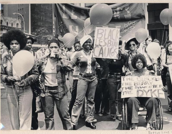 The blacker the berry the sweeter the dyke african american black lgbtqia support vintage photograph black lesbian caucus