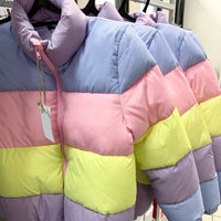 Pastel bubble jacket