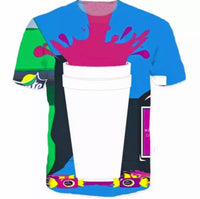 Men explode drink shirt