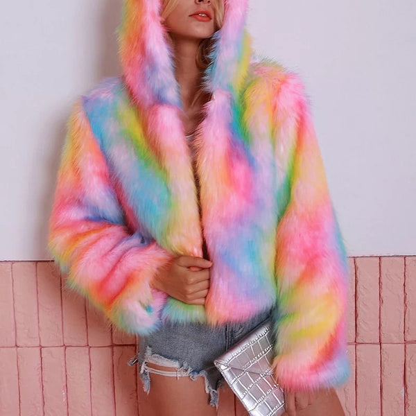 Krazy fur jacket