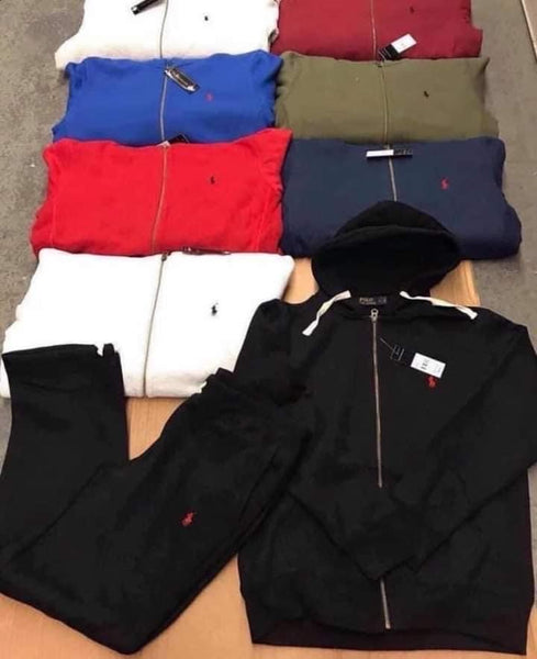 Men polo sweatsuit
