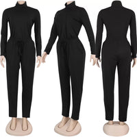 Tiffany turtleneck jumpsuit