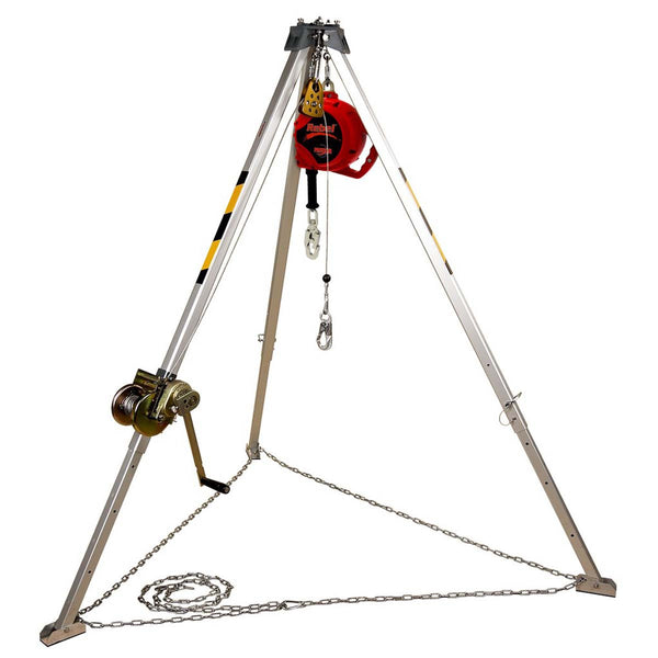 3M Confined Space TRIPOD, WIN/SRL 50' GALV  AA805AG