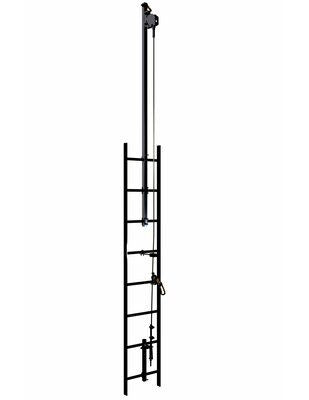 3M  DBI-SALA  Lad-Saf  Cable Vertical Safety System Climb Extension Bracketry 6116617, 2 User, Galvanized Steel, 1 EA