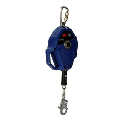 3M  DBI-SALA  Smart Lock Self-Retracting Lifeline , Stainless Steel Cable, Blue, 30 ft. (10m) 3503801