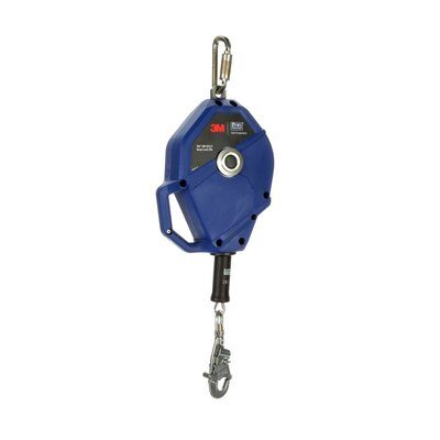 3M  DBI-SALA Smart Lock Self-Retracting Lifeline , Stainless Steel Cable, Blue, 50 ft. (15m), 3503823