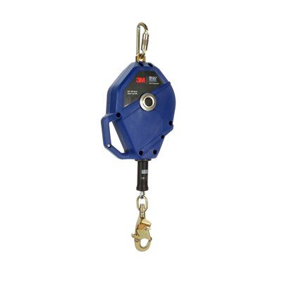 3M  DBI-SALA Smart Lock Self-Retracting Lifeline , Galvanized Cable, Blue, 50 ft. (15m), 3503824