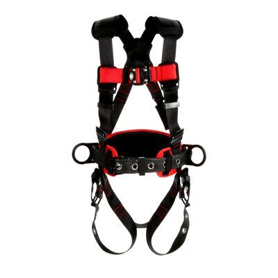3M Protecta  Construction Style Positioning Harness, Black