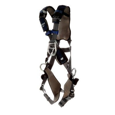3M  DBI-SALA  ExoFit NEX  Plus Comfort Cross-Over Style Positioning/Climbing Harness, Gray, 1 EA