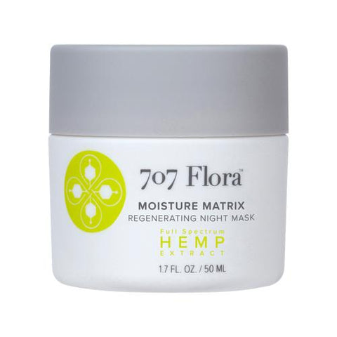 707 Flora Moisture Matrix Regenerating Night Mask