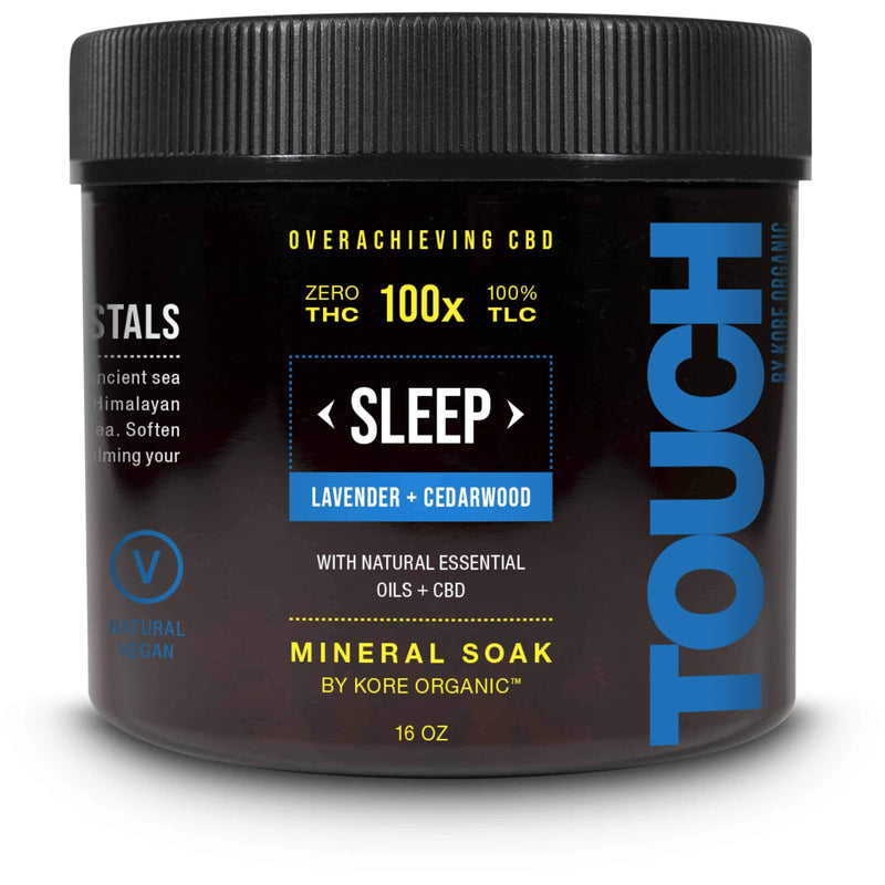 CBD Mineral Soak - Sleep - CBD Bath