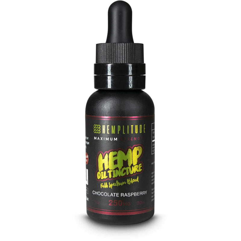 Full Spectrum Chocolate Raspberry Hemp Oil - CBD Tinctures