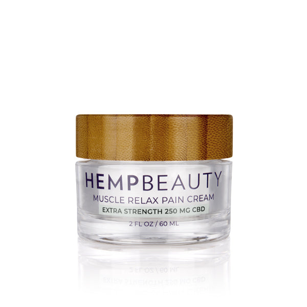 CBD Creams | Hemp Beauty - HempBeauty Muscle Relax Pain Cream 2oz/60ml