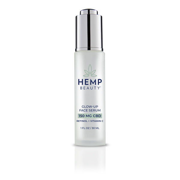 CBD Skincare | Hemp Beauty - HempBeauty Glow Up Face Serum 1oz/30ml