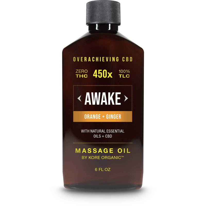 CBD Massage Oil - Awake