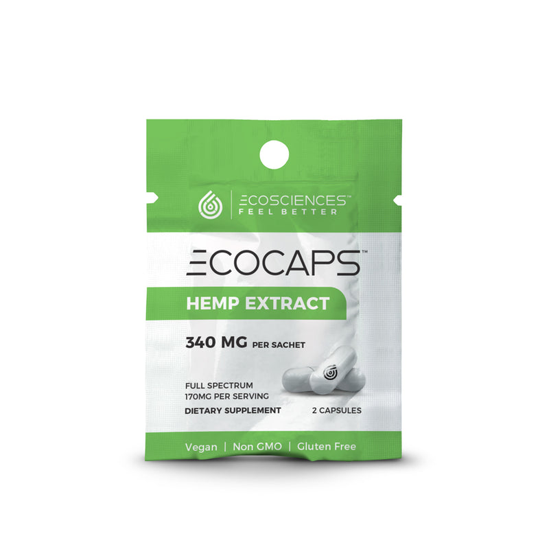 CBD Capsules & Pills | Eco Sciences - ECOCAPS™ 2ct