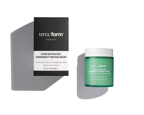 CBD Skincare | Terra/form - Concentrated Overnight Repair Mask 500mg