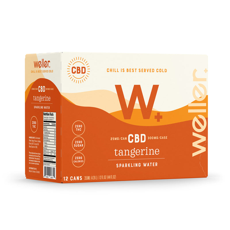 CBD Sparkling Water - 12 pack - CBD Edibles Beverages