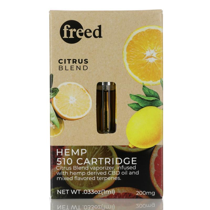 Freed CBD 510 Cartridge - Pre-Filled - CBD Concentrates Vape Pens