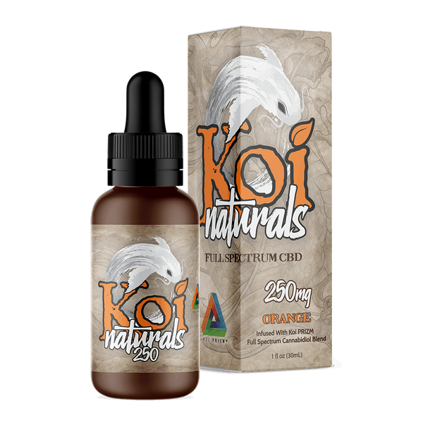 Koi Naturals Orange - CBD Tinctures