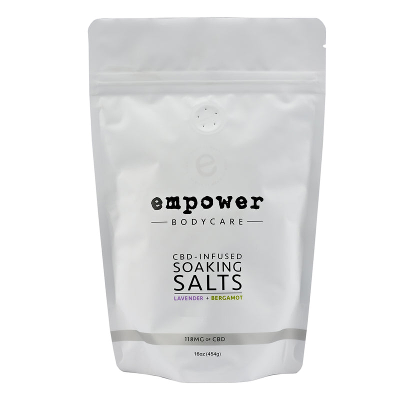 Empower® CBD-Infused Soaking Salts - CBD Bath