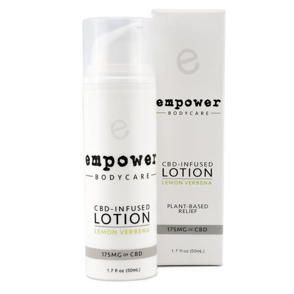 Empower® CBD-Infused Topical Lotion - CBD Creams
