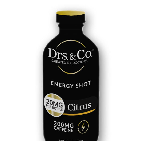 Energy Shot - Citrus - CBD Beverages