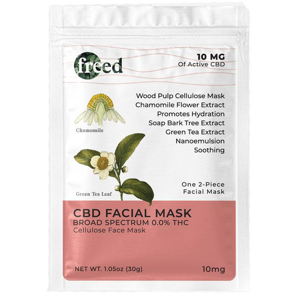 Freed CBD Facial Mask - CBD Skincare