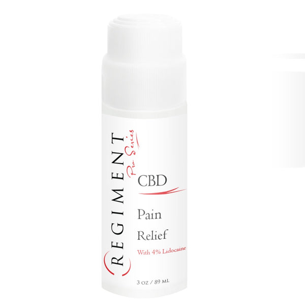 CBD Skincare | Regiment Pro Series - Pain Relief Rollerball with 4% lidocaine + Full Spectrum CBD 500mg