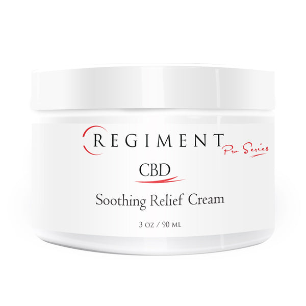 CBD skincare | Regiment Pro Series - EMU Soothing Relief Cream + 450mg Full Spectrum CBD 450mg