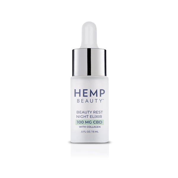 CBD Skincare | Hemp Beauty - HempBeauty Beauty Rest Night Elixir .5oz/15ml