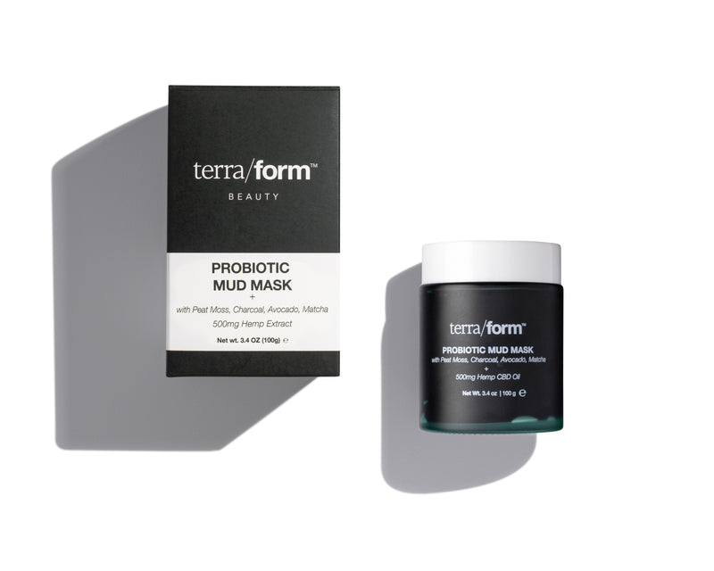 CBD Skincare | Terra/form - Probiotic Mud Mask 500mg