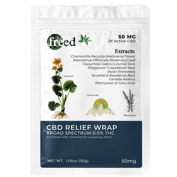 Freed CBD Relief Wrap - CBD Patches