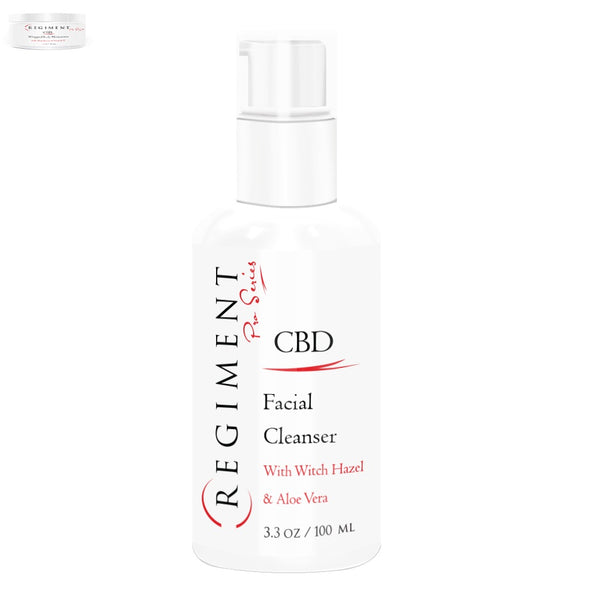 CBD Skincare | Regiment Pro Series - Facial Cleanser 85mg Full Spectrum CBD