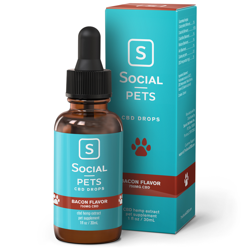 Bacon Pet CBD Tincture - CBD Pet Oils