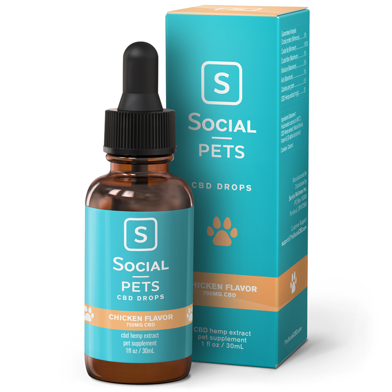 Chicken Pet CBD Tincture - CBD Pet Oils
