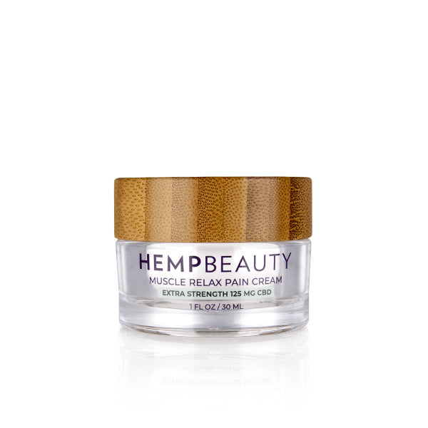 CBD Creams | Hemp Beauty - HempBeauty Muscle Relax Pain Cream 1oz/30ml