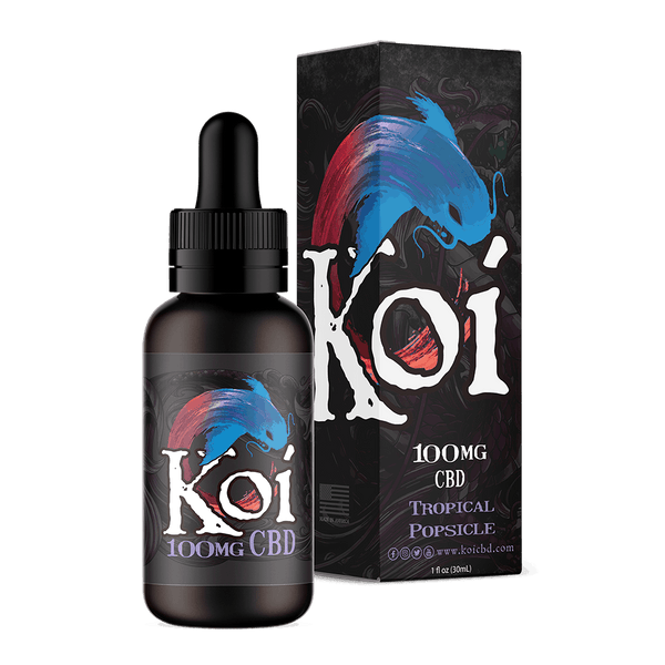 Purple Koi - Tropical Popsicle - CBD Vape Juice