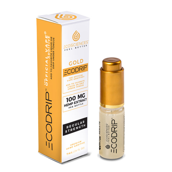 CBD Vape Juice | Eco Sciences - ECODRIP™ Gold