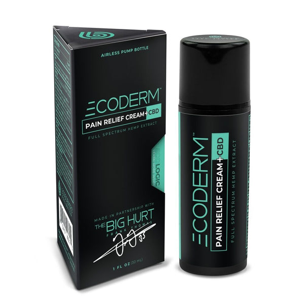 CBD Creams | Eco Sciences - ECODERM™ Pain Cream 100mg