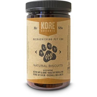 Kore Organic CBD Pet Biscuits - CBD Pet Treats