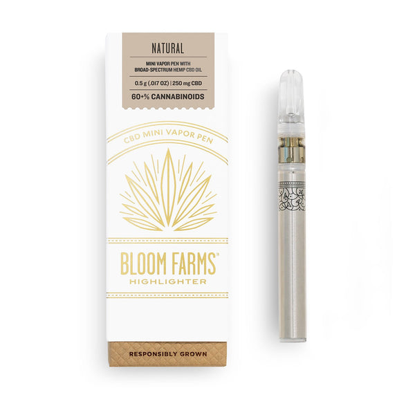 CBD Vape Pens | Bloom Farms CBD - Mini Vapor Pen Natural