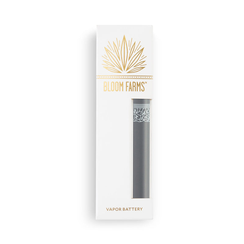 CBD Vape Pens | Bloom Farms CBD - Classic Vapor Battery Grey