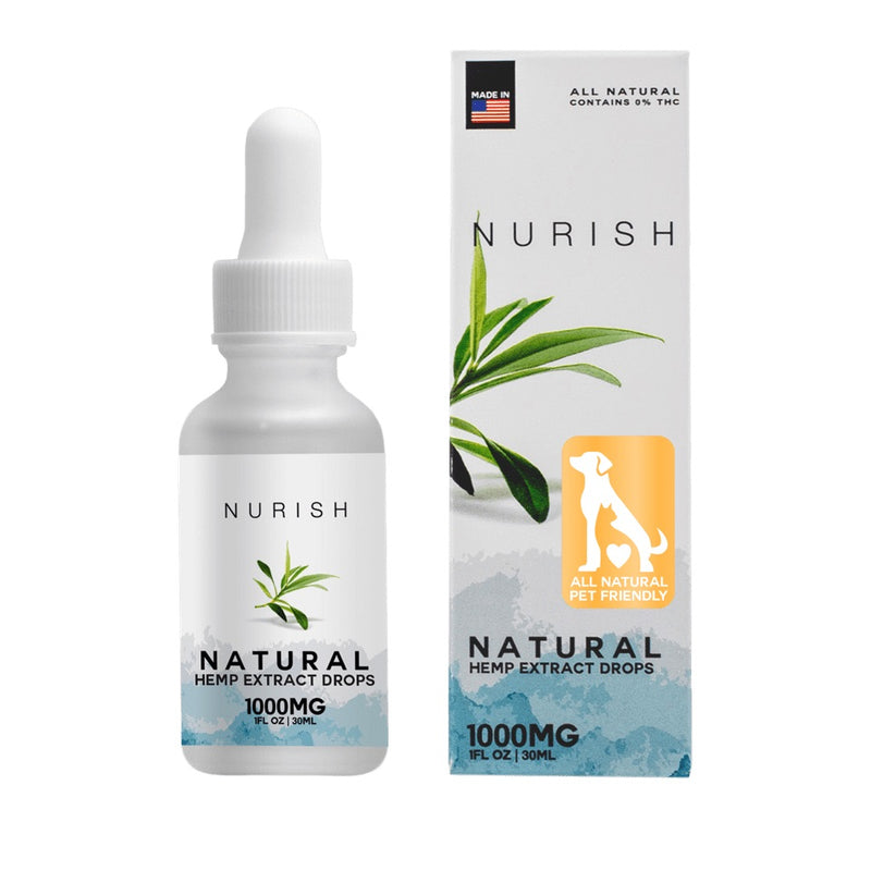 Pets All Natural Hemp CBD Extract Drops - CBD Tinctures