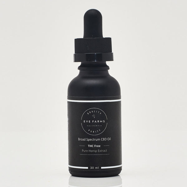 Broad Spectrum CBD MCT Oil Drops With Ginger - CBD Oils Tinctures