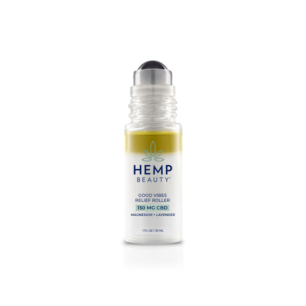 CBD Skincare | Hemp Beauty - HempBeauty Good Vibes Relief Roller 1oz/30ml