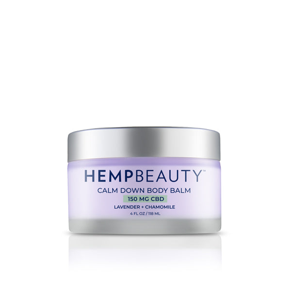 CBD Creams | Hemp Beauty - HempBeauty Calm Down Body Balm 4oz/118ml