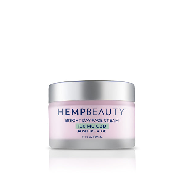CBD Creams | Hemp Beauty - HempBeauty Bright Day Face Cream 1.7oz/50ml